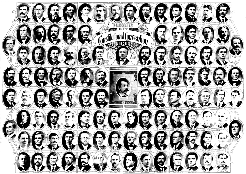 Delegates to the Constitutional Convention of 1906