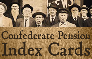 Confederate Pension Cards