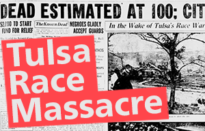 Tulsa Race Massacre documents files records