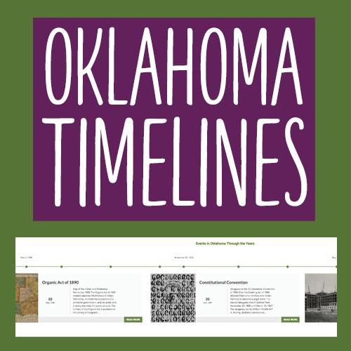 Oklahoma Timelines
