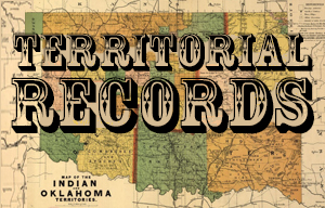 Territorial Records Collection