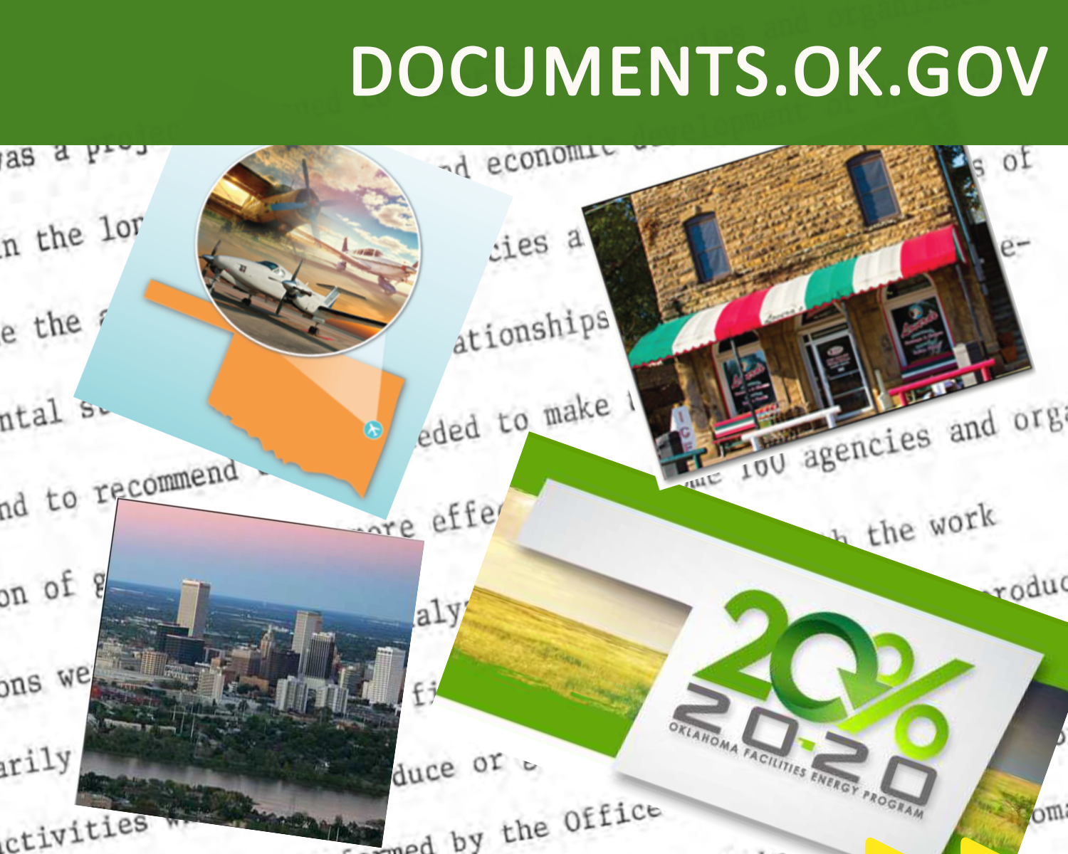 View collection of documents from Oklahoma agencies
