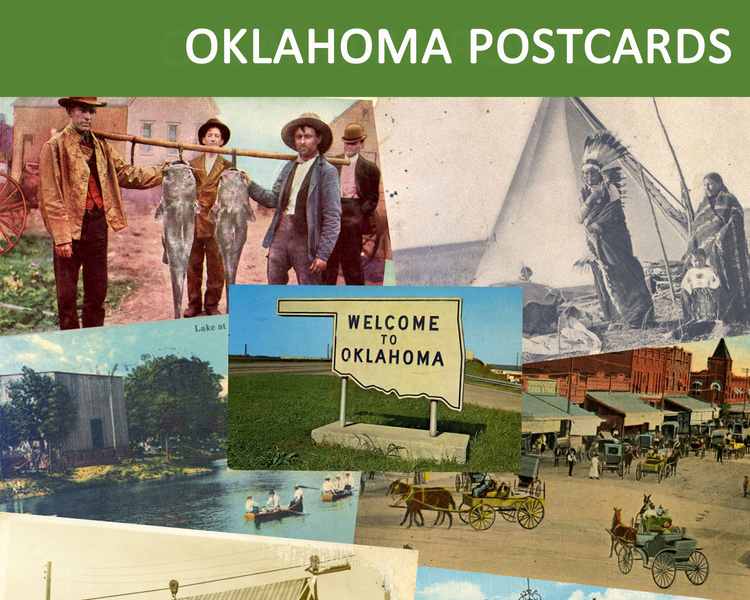 Historic Postcards from Oklahoma