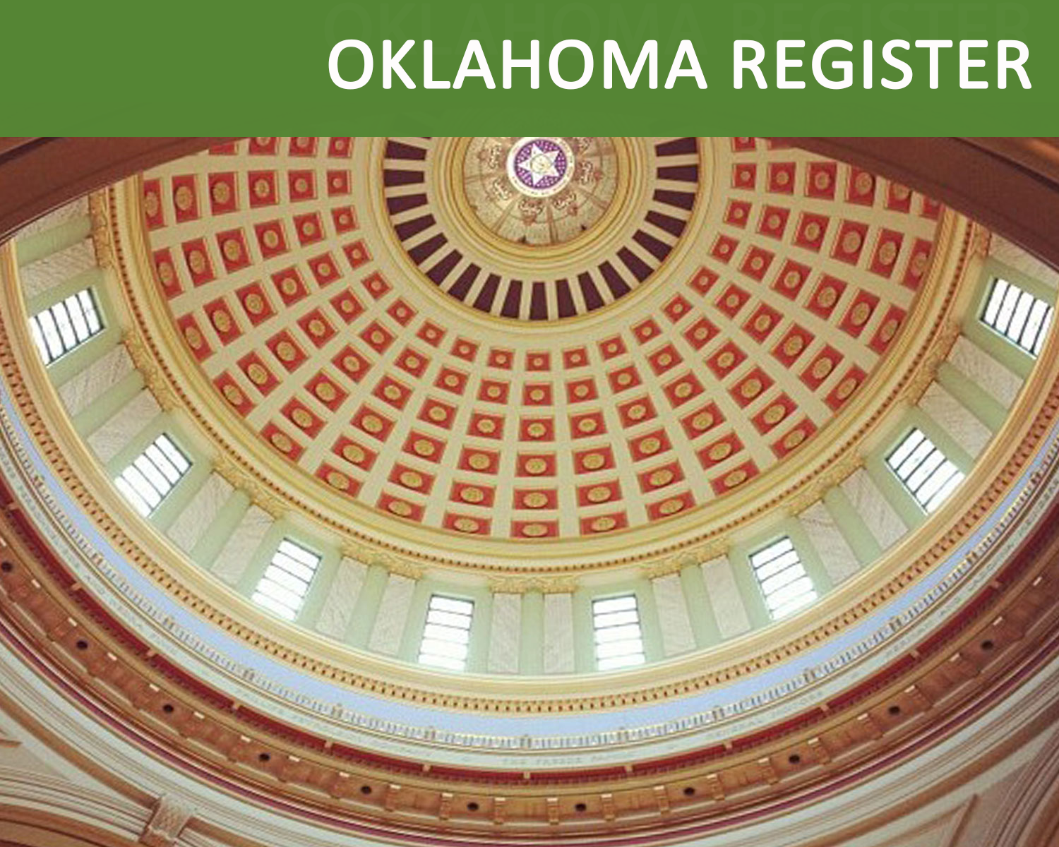 View collection of Oklahoma Register