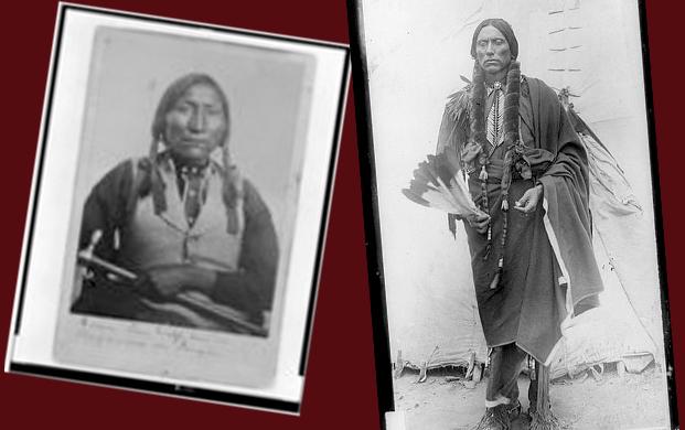 Kiowa Chief Lone Wolf and Comanche Chief Quanah Parker