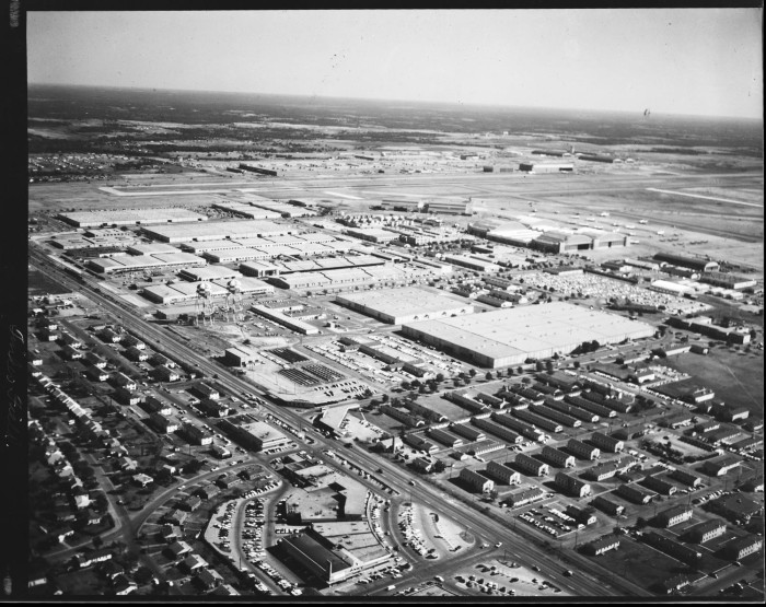 Aerial View of Tinker Air Force Base